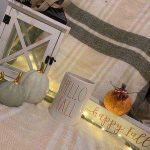 "Rae Dunn ""Hello Fall"" candle"